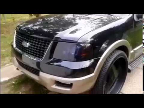 E Wrights Black 03 Ford Expedition On 26inch Rims Tires Youtube