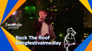 Rock The Roof: Songfestivalmedley | Grand Final | Eurovision 2021 Resimi
