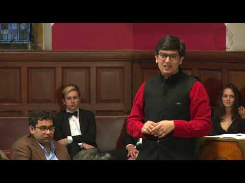 Chaitanya Kediyal | We Should NOT Have Confidence in Modi's Government (1/8) | Oxford Union
