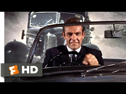 Dr. No (3/8) Movie CLIP - On the Way to a Funeral (1962) HD