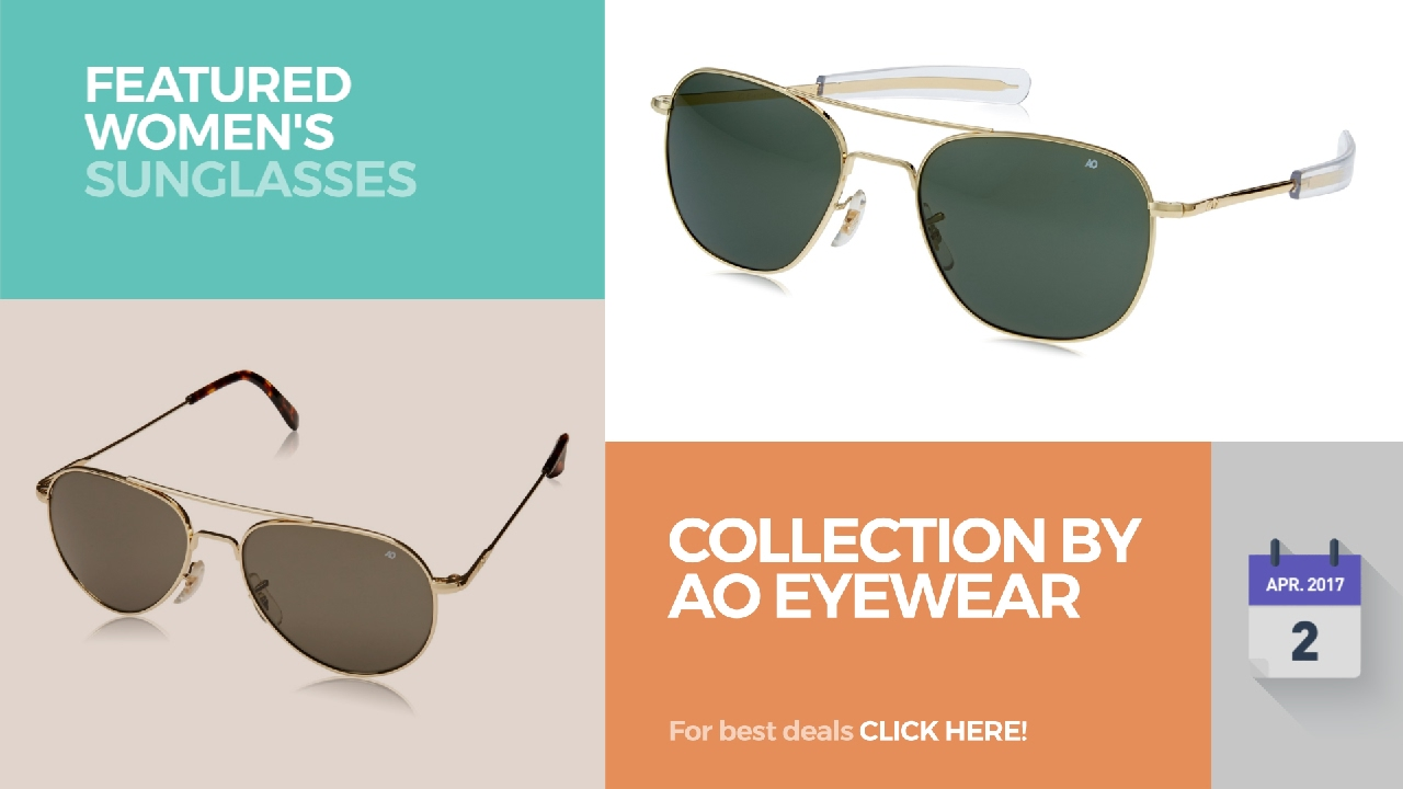 b629b9e1a4 Collection By Ao Eyewear Featured Women s Sunglasses - YouTube