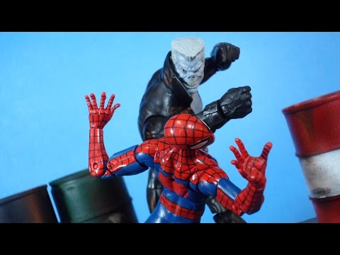 Marvel Legends Spider-Man Homecoming Series Vulture BAF Wave TOMBSTONE Action Figure Review