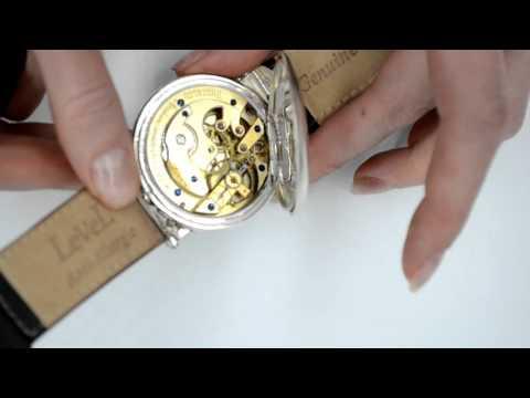 Longines antique wrist watch silver rare original authentic trench watch 1880