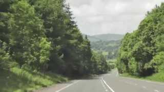 A Drive to Gatehouse of Fleet, Dumfries & Galloway 2013
