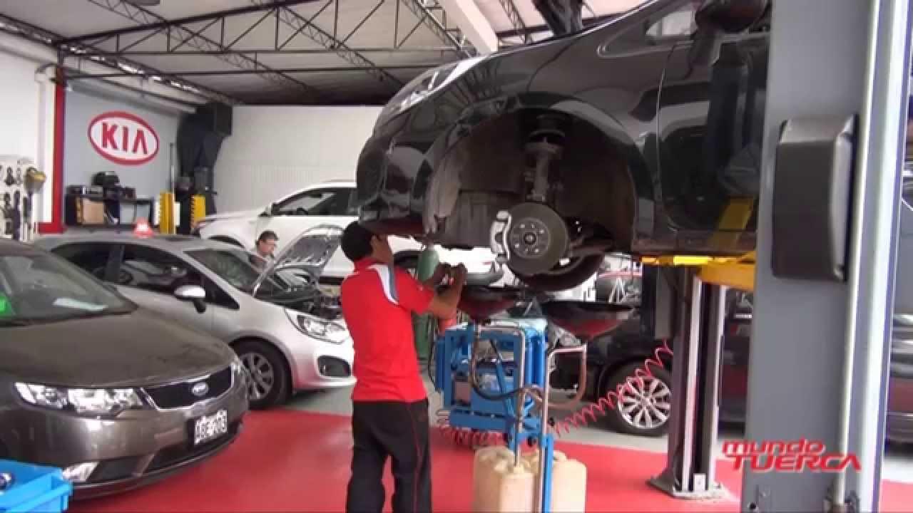Servicio Kia Express Taller Sereinsa Youtube