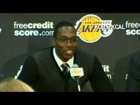 Dwight Howard's Los Angeles Lakers Press Conference