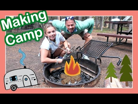 CAMPING 🌲 101 At YELLOWSTONE | A WESTERN  🚐  RV ADVENTURE | Flippin' Katie