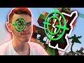 Minecraft With EYE TRACKER