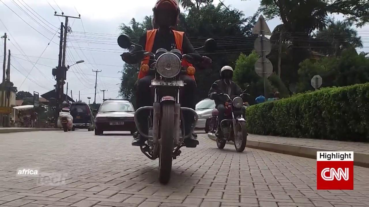 Uganda S Motorcycle Hailing App Improves Safety Youtube