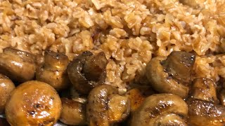 Полба с грибами | Հաճարով փլավ | Spelt wheat pilaf with mushrooms