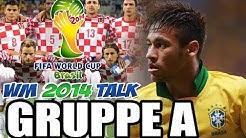 Fussball #WMTALK 2014 - GRUPPE A - Fussball Stammtisch zur FIFA WM 2014