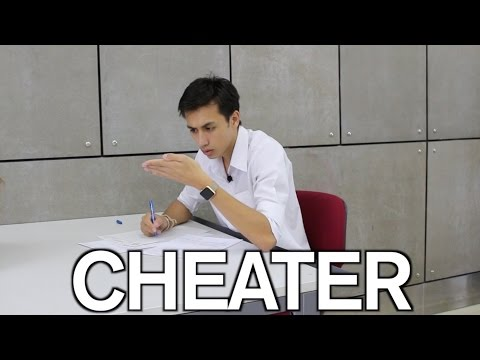 How NOT To Cheat During An Exam
