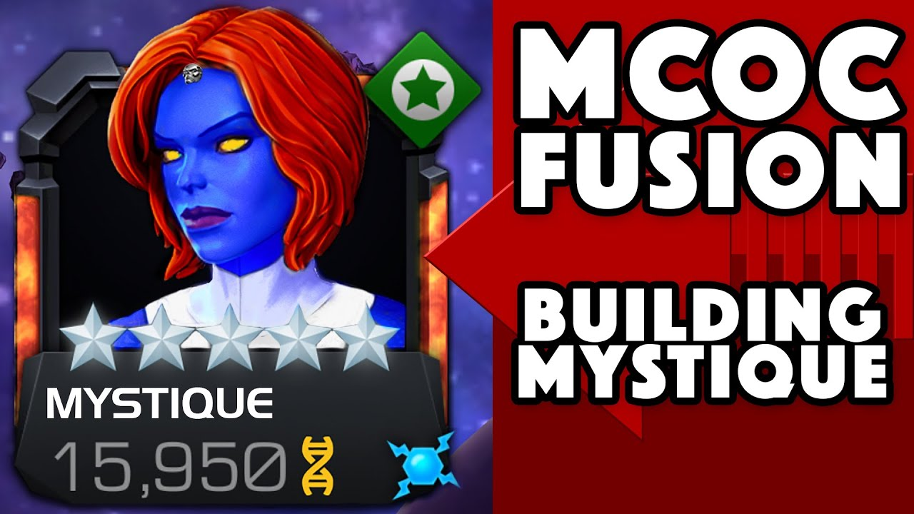 MCOC Fusion - Building MYSTIQUE For The Contest!