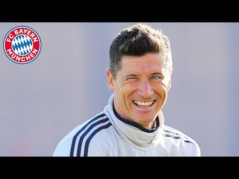 Guess who's back?! Robert Lewandowski!