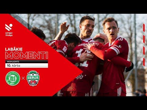 Metta LU Riga FS FK Liepaja Goals And Highlights