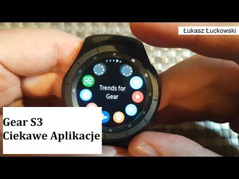 Samsung Gear S3 przydatne aplikacje   Mój wybór