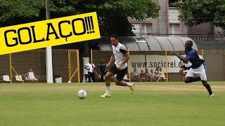 Ricardo Oliveira marca GOLAÇO   Santos 4 x 0 Cotia