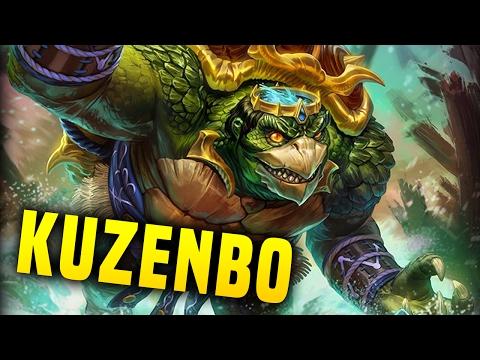 Kuzenbo, King Kappa! The New Japanese Tank! | Smite Kuzenbo PTS Gameplay (Kuzenbo Build)