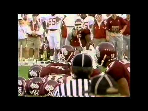 1994 #6 Alabama vs. #20 Mississippi State Highlights
