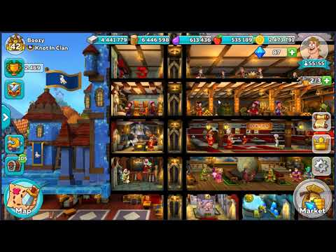 Boozy Gaming: Hustle Castle Layout