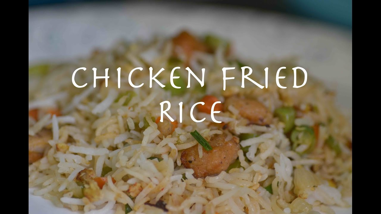 Chicken Fried Rice Tamil - YouTube
