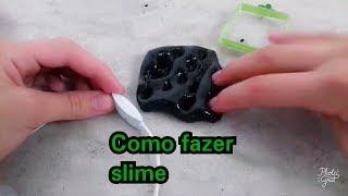 Como fazer amoeba (slime)com apenas 3 ingredientes