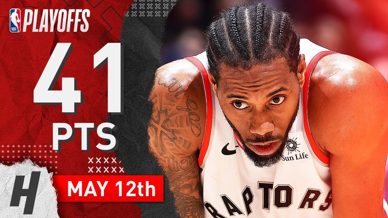 Kawhi Leonard Full Game 7 Highlights Raptors vs 76ers 2019 NBA Playoffs - 41 Pts, GAME-WINNER!