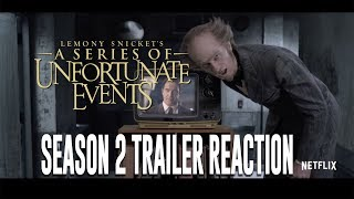 NPH! Fillion! A Series of Unfortunate Events Season 2 trailer reaction!