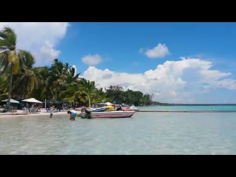 Strand in Boca Chica - Dominikanische Republik
