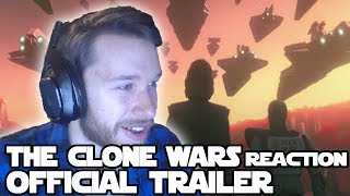 "Star Wars ""The Clone Wars Official Trailer"" Reaction"