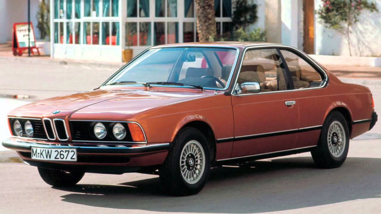 BMW 630CS Year 1976 - YouTube