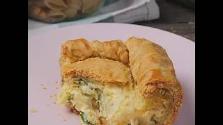 Как приготовить луковый пирог? | Легкий рецепт лукового пирога