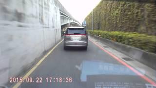 板橋區環河西路與光復橋下車禍2015 09 22下午5點20分 實際是 下午5點09分