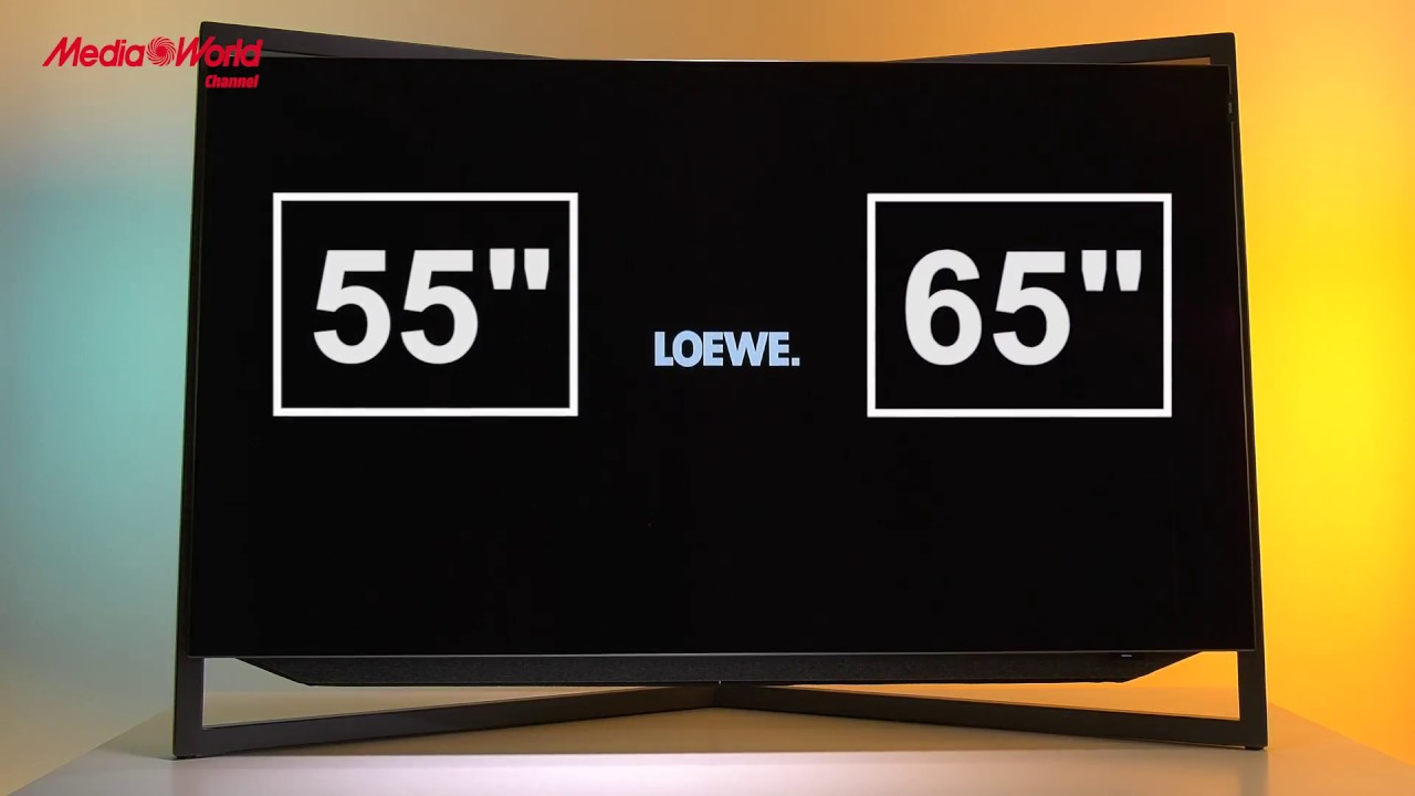 Scopriamo il TV Loewe Bild 9 OLED - YouTube