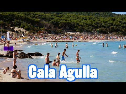 Cala Agulla Beach In Mallorca