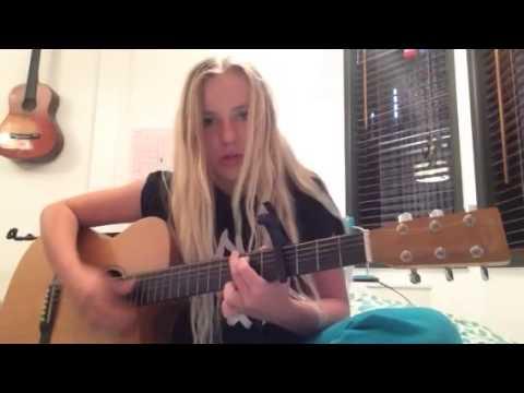Acoustic cover I'm not over - Carolina liar