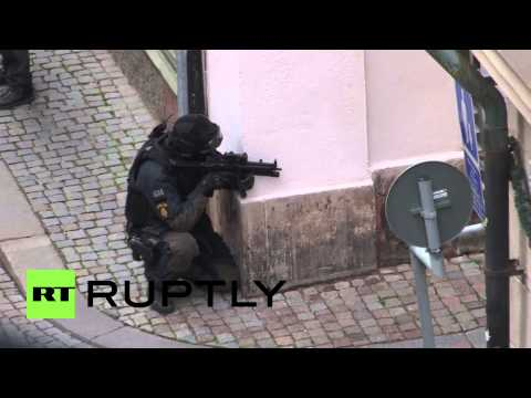 Sweden: Suspected Stockholm bomber holds out in police stand-off