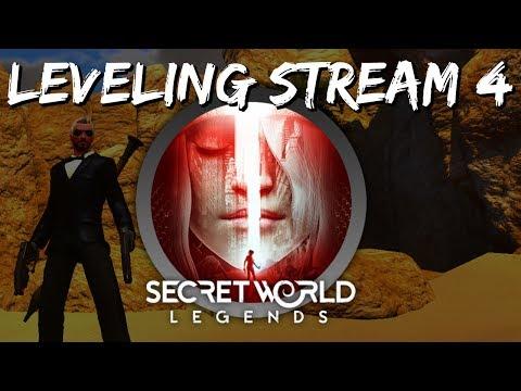 Secret World Legends Leveling Stream #4 - Big SWL Changes & Egypt Questing!