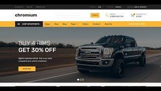 Chromium Wordpress Theme Review & Demo   Auto Parts Shop WordPress WooCommerce Theme   Chromium Price & How to Install