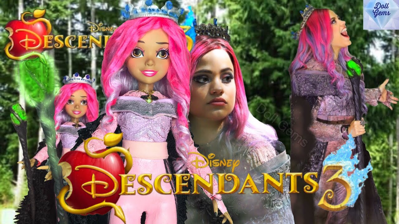 DESCENDANTS 3 AUDREY DOLL is EVIL Behind The Scenes The Big Sleep Full  Movie Spoilers REVIEW