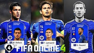 FIFA ONLINE 4: BUILD & TEST DÀN TEAM Chelsea TC Vs Lampard TC & Ballack TC - ShopTayCam.com