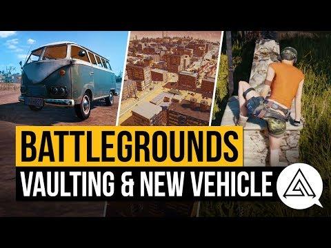 PUBG | New Vehicle, Vaulting Update & New Map Details (Battlegrounds)