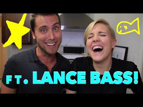 MY DRUNK KITCHEN: Sea Bass ft. LANCE BASS!