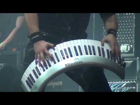 Epica - Great Keyboard - Quietus - Graspop 2013
