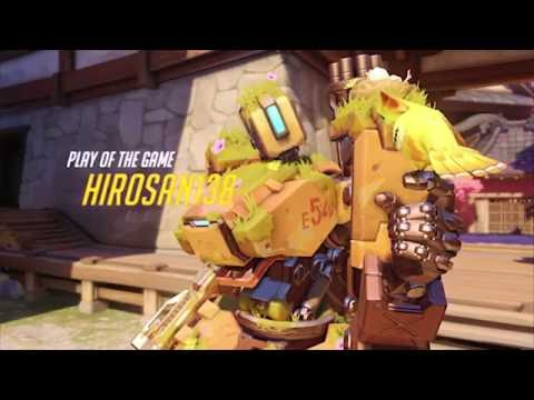 Overwatch - Amazing Bastion Play of the Game!