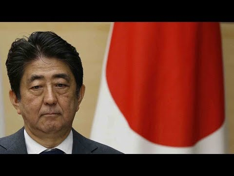 Japan PM Abe's Cabinet support rate plummets to new low
