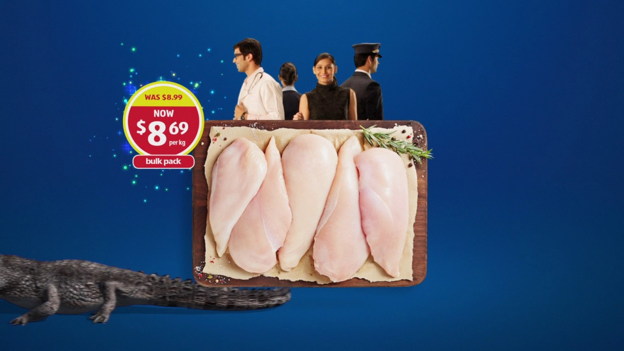 ALDI - Home of the Lowest Prices - Chicken Breasts - 15s