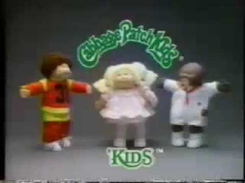 Cabbage patch kids dolls vintage 80/'s