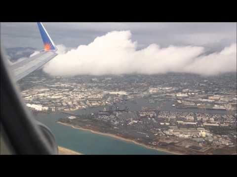 Takeoff from Honolulu to Las Vegas Allegiant 757