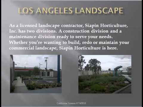 Los Angeles Landscape | Los Angeles Landscape Video 562-801-9722